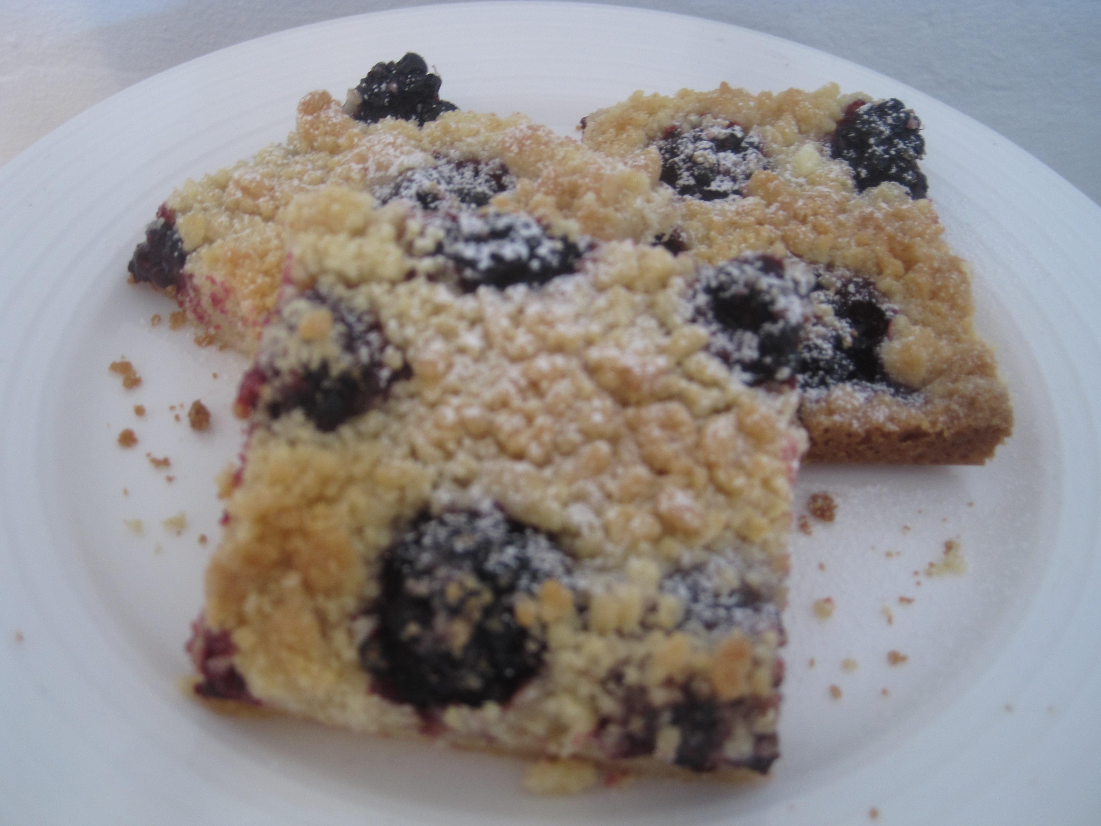 Blackberry Almond Shortbread Squares   Perfecting Pru